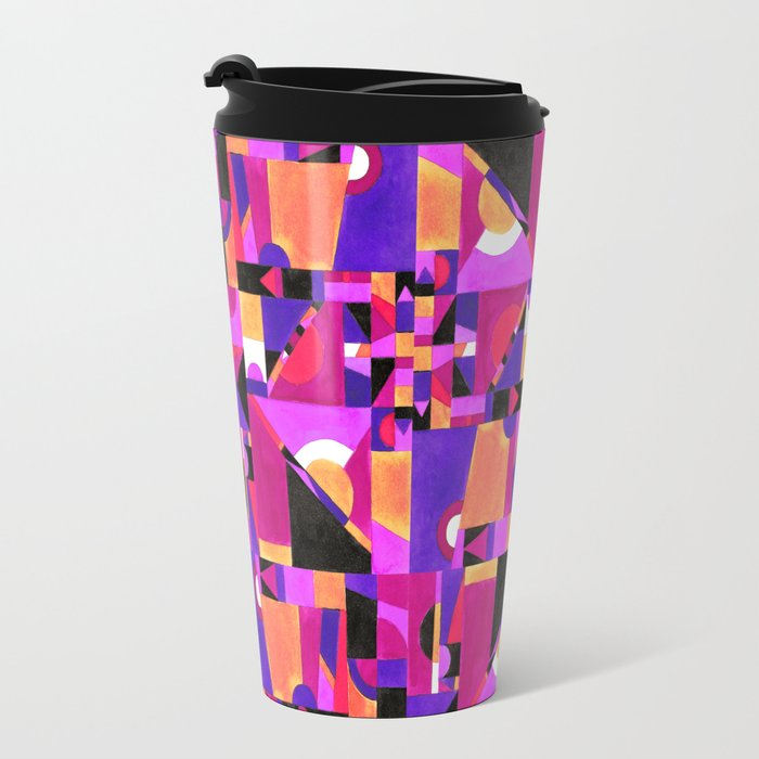 Geomtropy Travel Mug