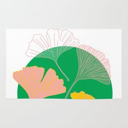 Ginkgo - the leaf of life Rug