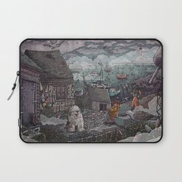 Home for the Harbor Laptop Sleeve