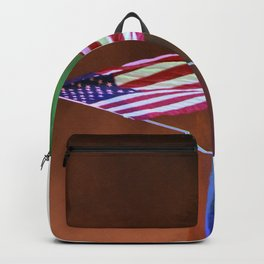 Patriotic at dusk Backpack