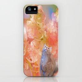 Whimsical Kitten iPhone Case