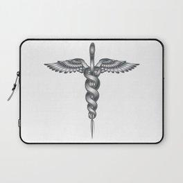 Caduceus Medical Symbol Laptop Sleeve