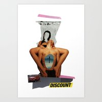 discount Art Prints featuring discount by Andrei Cojocaru