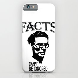 Facts Can't Be Ignored | Aldous Leonard Huxley iPhone Case