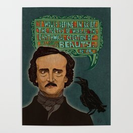 Just a Poe Boy Poster