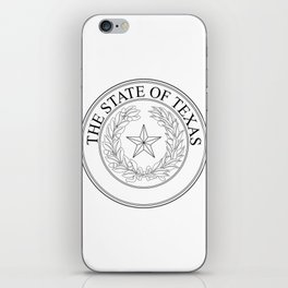The State Of Texas Seal iPhone Skin