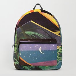 Waipio Valley Abstraction Backpack
