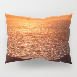 Orange Skies at Sunset Pillow Sham
