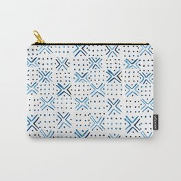 Pattern - Indigo Carry-All Pouch