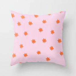 Starr pattern Throw Pillow