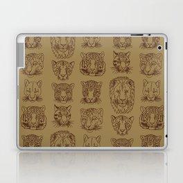 Kickass Kitties - savanna Laptop & iPad Skin