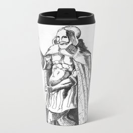 Alchemist in Astral Body  Metal Travel Mug