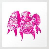 minima - slowbot 005 Art Print