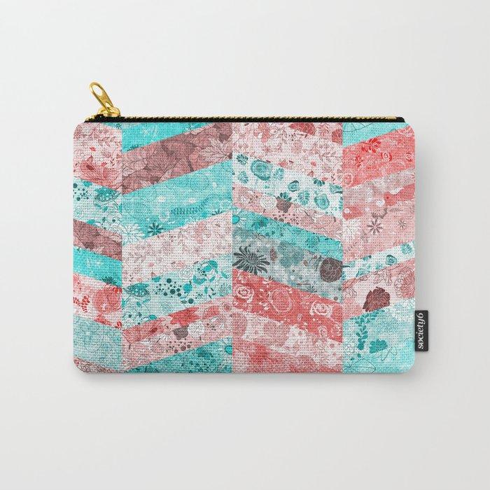 Paris Pattern Carry-All Pouch
