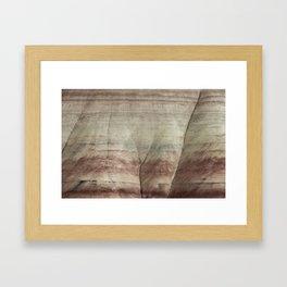 Hills as Canvas, No. 2 Framed Art Print