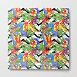 cute wild parrot Metal Print