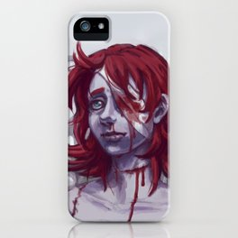 Choking Life Down iPhone Case