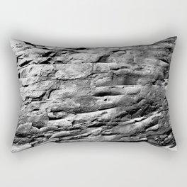 Rock Wall Rectangular Pillow