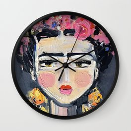 Fine Frida Wall Clock