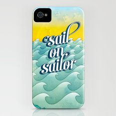 Sail on sailor, iPhone (4, 4s) Slim Case