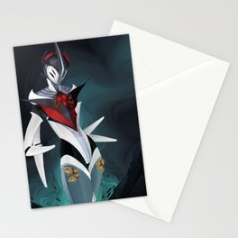 Graceful Mecha Stationery Cards