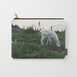 Mountain Goat at Logan Pass Carry-All Pouch
