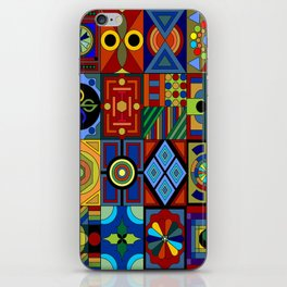 Rectangles iPhone Skin