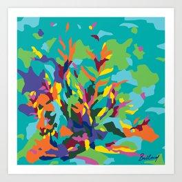 Tropic Paradise Art Print