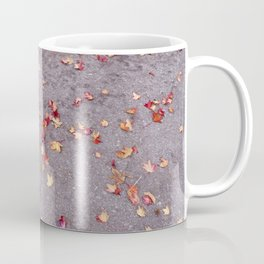 Autumn leaves, colours, gutters in Vancouver, BC Coffee Mug