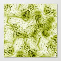 geode Canvas Prints featuring geode by maika