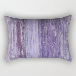 Purple Woodland Rectangular Pillow