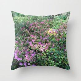 Spring in England Throw Pillow