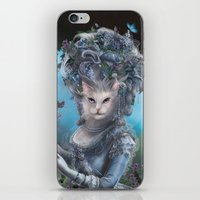 marie antoinette iPhone & iPod Skins featuring Marie Antoinette by Christina Hess