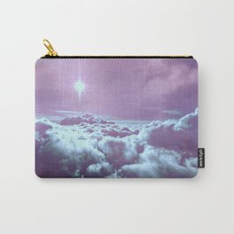 Mystic Clouds Lavender Aqua Carry-All Pouch