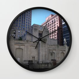 Chicago Skyline, Chicago from the River Wall Clock
