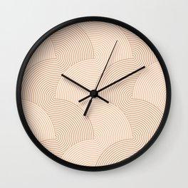 Cascade .wood Wall Clock