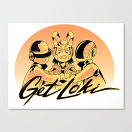 Get Loki Canvas Print