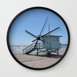 Malibu Beach Lifeguard Stand Wall Clock