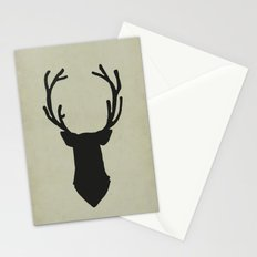 Le cerf my deer. Stationery Cards