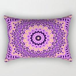 Mandala  Pink, purple Rectangular Pillow