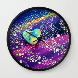 Celestial Love Wall Clock