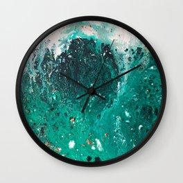 Mountain runoff Wall Clock