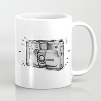 heroes of olympus Mugs featuring Olympus by Elwood Madison