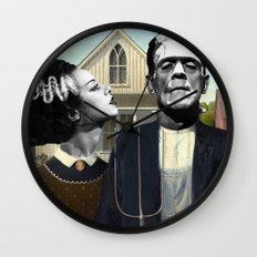 Dark Love  Wall Clock