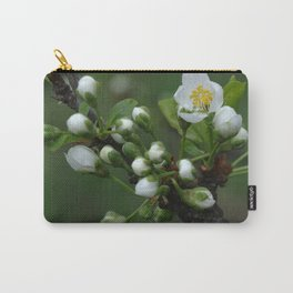Plum tree flower buds 2 Carry-All Pouch