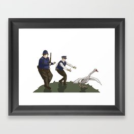 Hot Fuzz  Framed Art Print