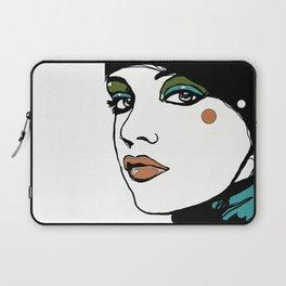 Green Eyeshadow  Laptop Sleeve