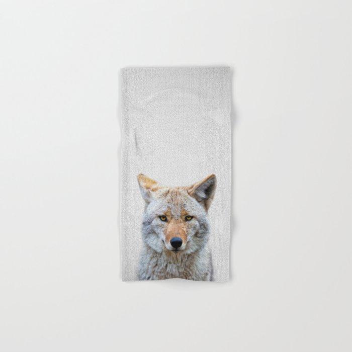 Coyote - Colorful Hand & Bath Towel