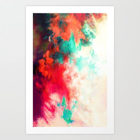 Painted Clouds VIII Art Print