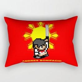 16-bit Andres Bonifacio Rectangular Pillow